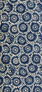 Exemple de motif batik Indonésien fait avec la technique du batik
